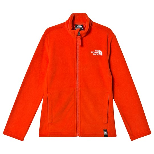The North Face Snow Quest Full Zip Fleece Red 15Q
