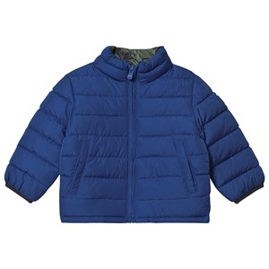 Image of GAP Puffer Jakke Brilliant Blue/Camo 18-24 mdr (1471308)