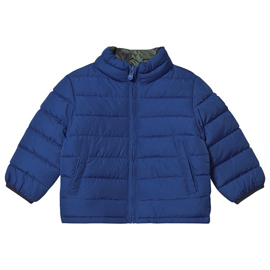 GAP Puffer Jacket Brilliant Blue/Camo Brilliant Blue