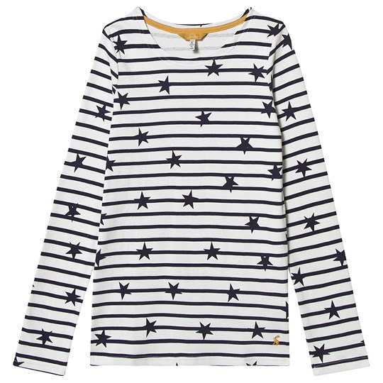 Tom Joule Falling Stars Harbor T-Shirt Cream/Navy NAVY STRIPE FALLING STAR