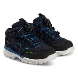 ECCO Urban Hiker Sko Black og Night Sky