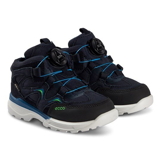 ECCO Urban Hiker Shoes Black and Night Sky Black/Night Sky/Night Sky