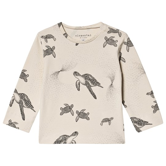 Fixoni Turtle Long-sleeved Tee Blue RAINY DAY