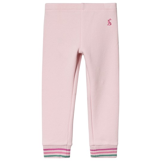 Tom Joule Lyla Brush Back Leggings Pink/Stribet Soft Pink