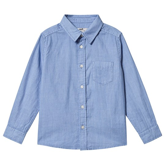 Cyrillus Boule Pocket Shirt Blue Ciel
