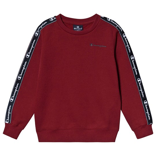 Champion Taped Sleeve Sweater Red TRD