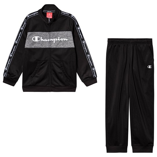 Champion Taped Sleeve Tracksuit Black NBK/NBK/ZDGRM