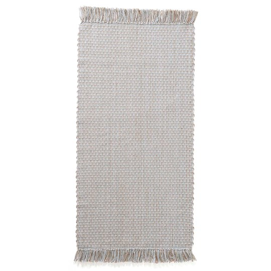 Kids Concept Cotton/Jute Rug 70 x 140 Blue/Grey Blue