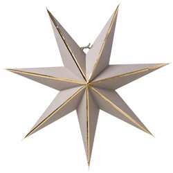 Watt & Veke Julia Advent Star 60 cm Mole