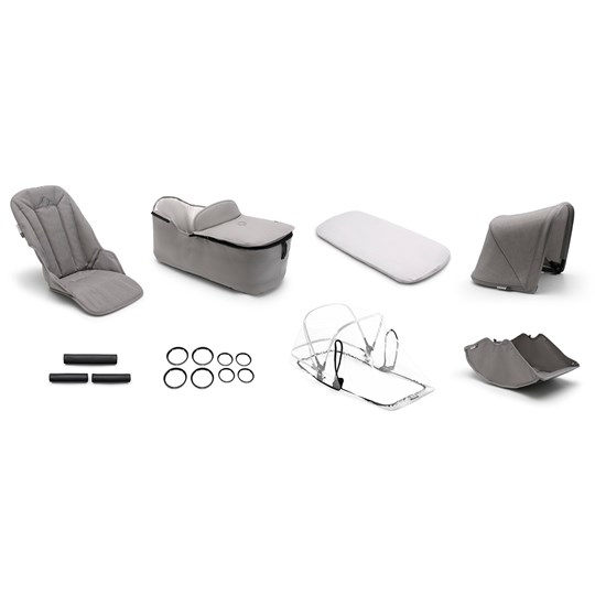 Bugaboo Fox Style Set Complete Mineral Light Grey Light Grey