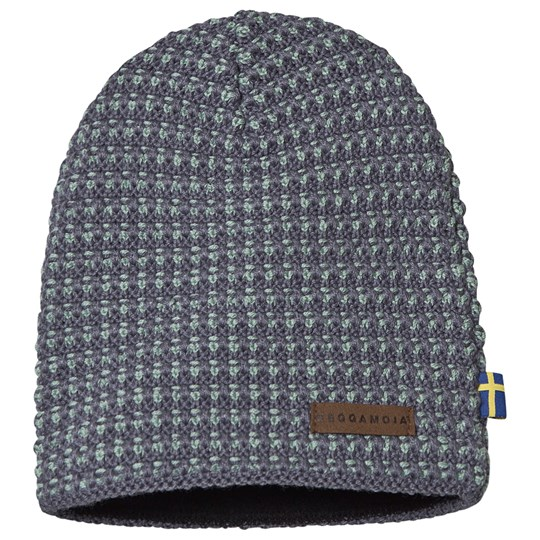 Geggamoja Knitted Hat China Blue China Blue