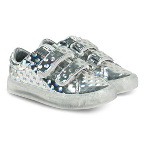 Image of Pop sko St Laurent EZ Sneakers Dots Silver 30 EU (1433846)