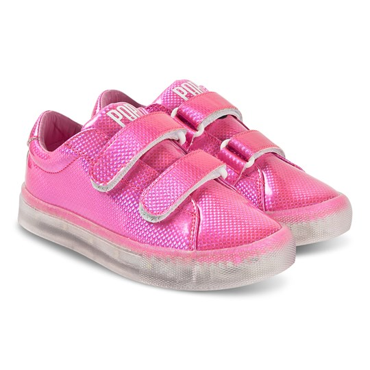 Pop Shoes St Laurent EZ Sneakers Safety Pink Safety Pink