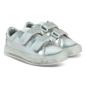 Image of Pop sko St Laurent EZ Sneakers Safety Silver 28 EU (1433860)