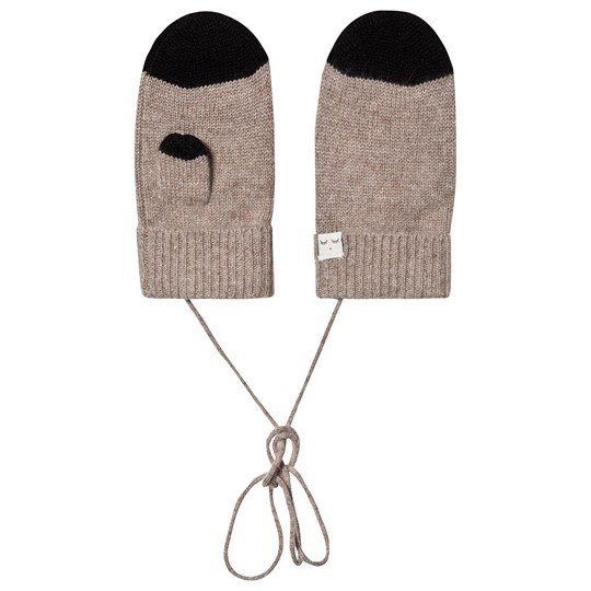 Livly Cashmere Mittens Oat Oat