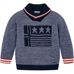 Mayoral Flag Knit Pull Over Jumper Blue/Navy