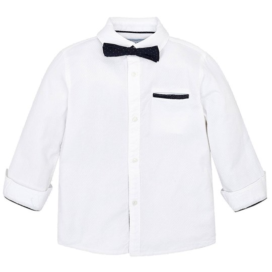 Mayoral Bow Tie Shirt White 83