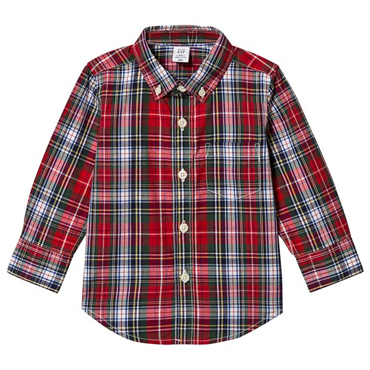 GAP Plaid Shirt Tartan TARTAN PLAID