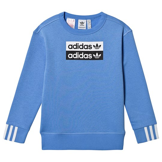 adidas Originals Double Logo Sweater Blue Real Blue