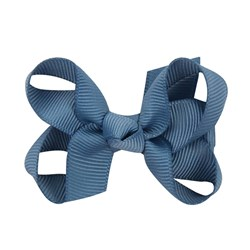 Petite Olivia Mini Silvia Hair Bow Jeans Blue