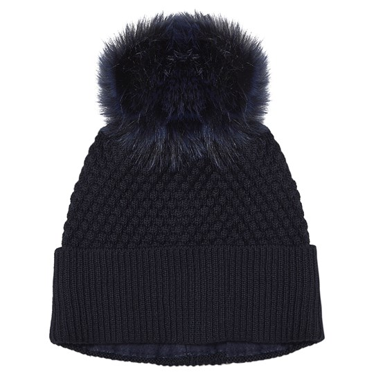 MP Oslo Pompom Hat Dark Navy Dark Navy