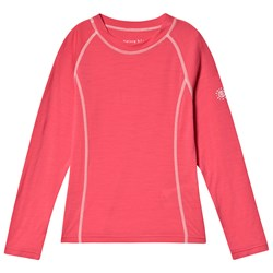 Poivre Blanc Merino Baselayer Top Cornflower Pink