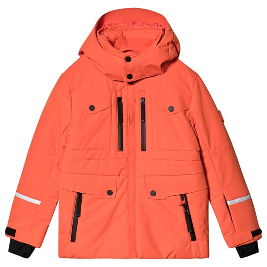 Poivre Blanc Multi Pocket Ski Jacket Clementine Orange clemenorange