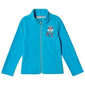 Image of Poivre Blanc Broderet Micro Fleece Jakke Aqua Blue 2 years (1487177)