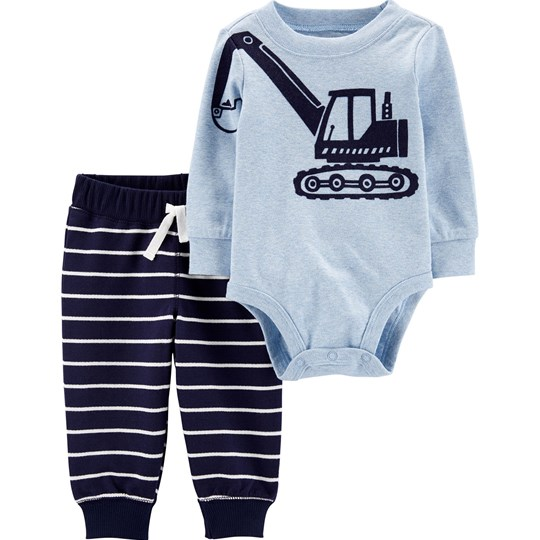 Carter's 2-Piece Construction Baby Body and Pants Set BLUE (420)