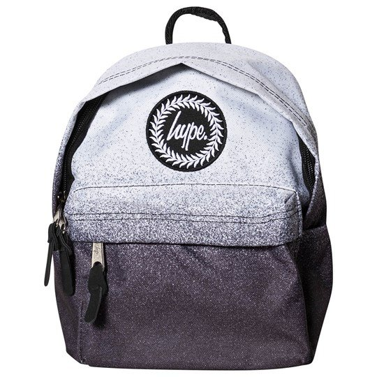 Hype Speckle Fade Mini Backpack Black and White White/Black