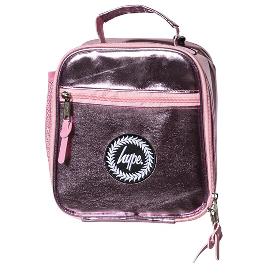 Hype Holographic Lunch Bag Pink Pink