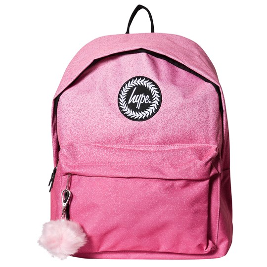 Hype Speckle Fade Backpack Pink Pink