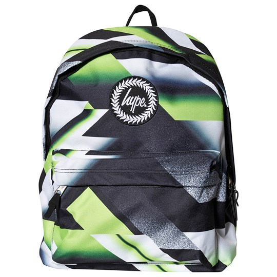 Hype Lime 807 Backpack Black and Lime Black/Lime