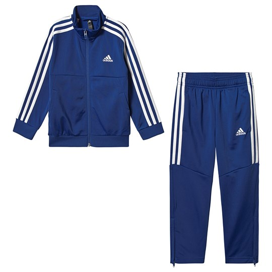 adidas Performance 3 Stripes Logo Tracksuit Blue Top:collegiate royal/white Bottom:COLLEGIATE ROYAL