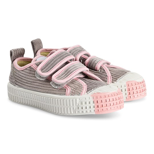 Novesta Exclusive Star Master Corduroy Sneakers Grey/Pink GY-PNK/110WHT