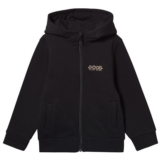BOSS Hugo Boss Full Zip Hoodie Black/Gold 09B