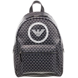 Emporio Armani Allover Eagle Backpack Navy
