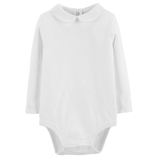 OshKosh Peter Pan Baby Body Vit WHITE (100)