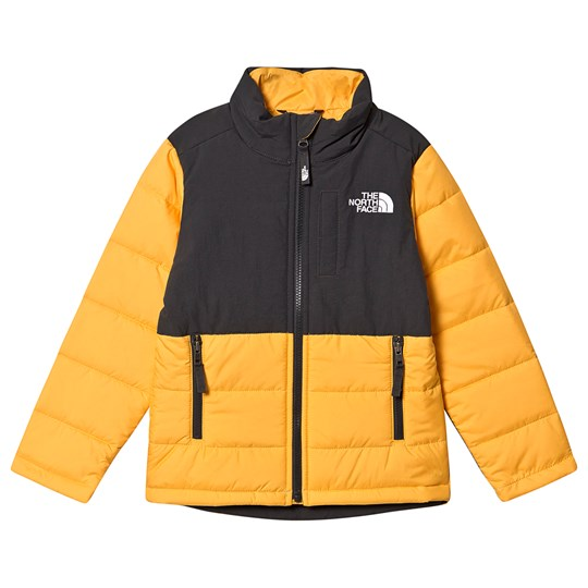 The North Face Balanced Rock Puffer Jacket Yellow/Black 70M