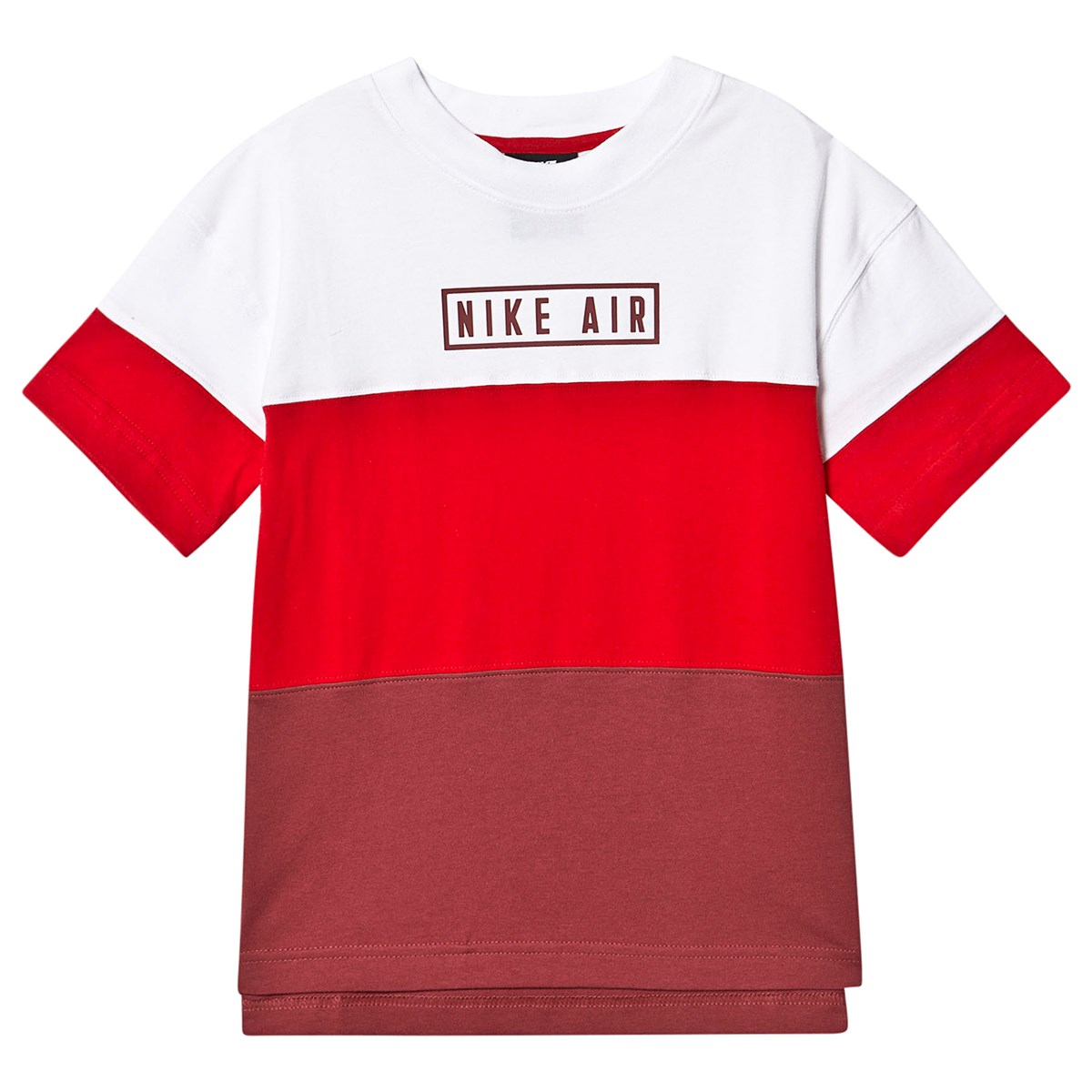 Color Block Nike Air T-Shirt White/Red