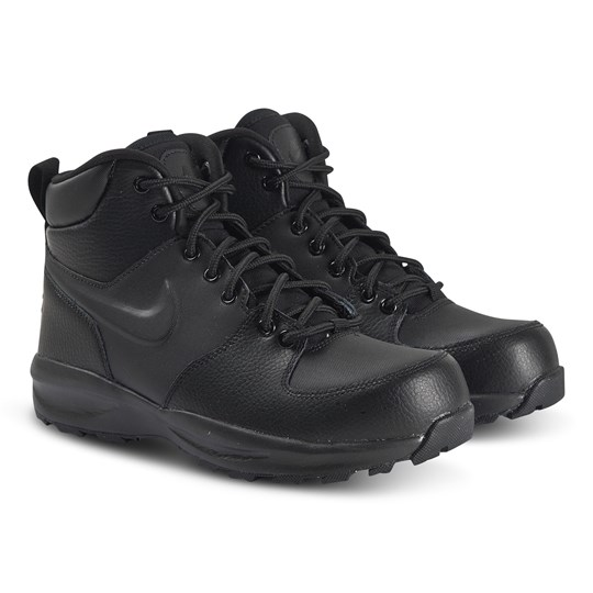 NIKE Black Nike Manoa Leather Boots 001