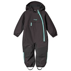 Bergans Lilletind Insulated Vinteroverall Solid Charcoal