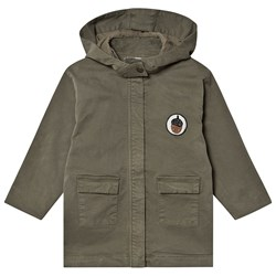 One We Like Acorn Parka Burn Olive