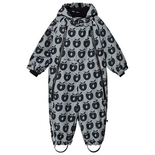 The Pyjama Party Babies Lined Faux Fur Lined Snowsuit Coat Pink Navy Or White Roll Over Mitts