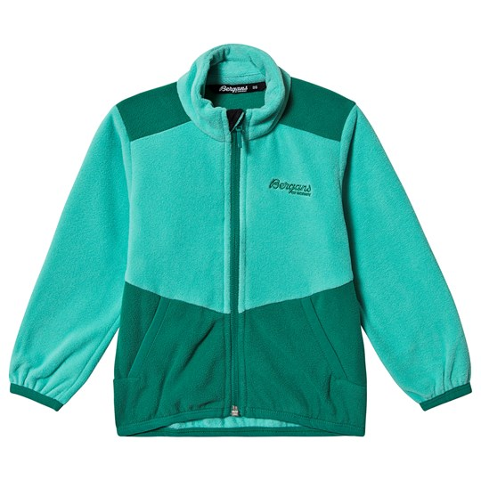 Bergans Lilletind Fleece Jacket Greenlake LtGreenlake