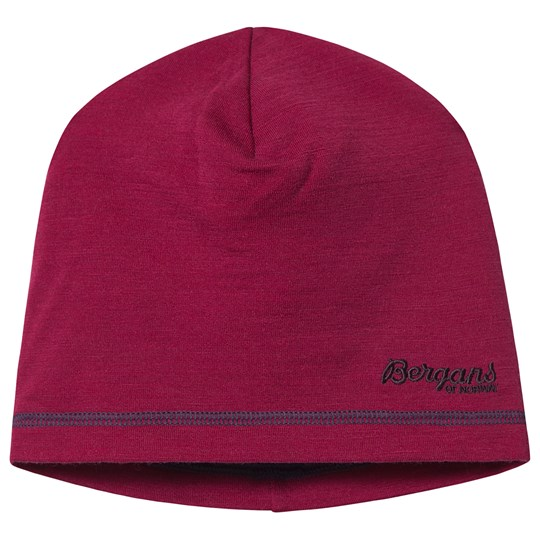 Bergans Akeleie Beanie Beet Red and Raspberry Raspberry/Beet