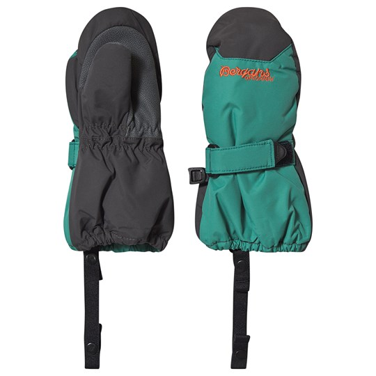 Bergans Insulated Mittens Greenlake and Solid Charcoal Greenlake/SolidChar
