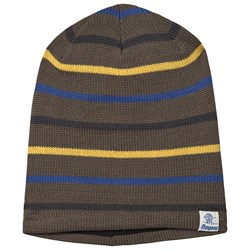 Bergans Rim Beanie Green Mud and Dark Royal Blue