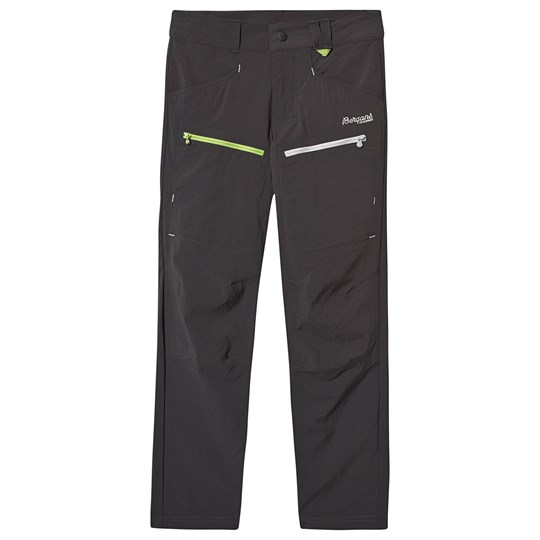 Bergans Utne Pants Solid Charcoal SolidCharcoal/Alu/Sprout Green