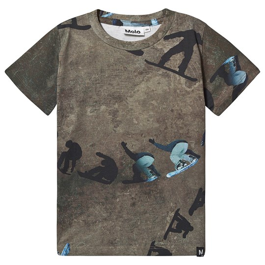 Molo Raymont T-Shirt Graphic Snowboarder Graphic Snowboarder